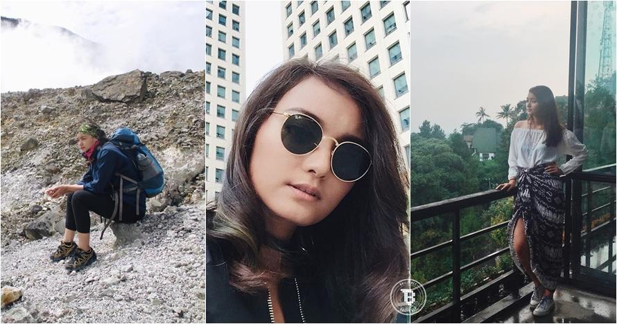 16 Foto Patrishiela Tan, model cantik Indonesia yang hobi traveling