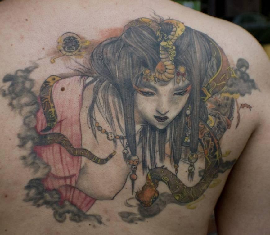 16 Tato Keren Para Yakuza Jepang Ini Artistik Banget Keren