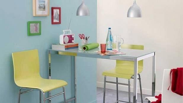 15 desain meja makan ini unik dan kekinian bikin betah di rumah. Black Bedroom Furniture Sets. Home Design Ideas