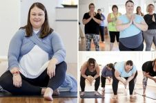 Tempat yoga ini dikhususkan bagi wanita bertubuh besar