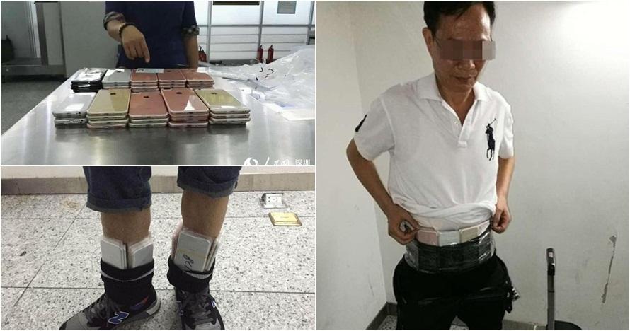 Cara orang China ini selundupkan 400 buah iPhone 7s bikin tepuk jidat