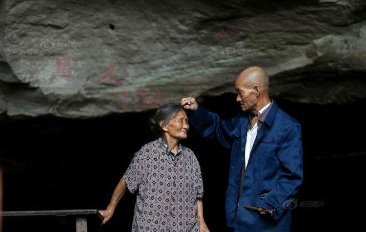 Pasangan lanjut usia ini hidup selama 54 tahun di gua