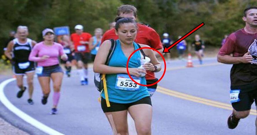 Demi sang anak, ibu ini pompa ASI sambil lari maraton