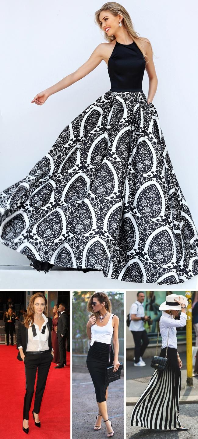 12 Padu Padan Pakaian Hitam Biar Tetep Gaya Tapi Nggak Membosanka Chocker Slice Top Blouse Baju Atasan Wanita Bl899 2016 Brilionet