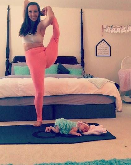 yoga momong © 2016 brilio.net