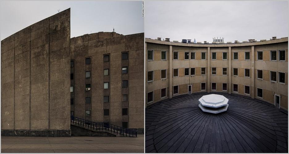 Terlihat kuno, 11 foto bangunan di Korea Utara ini bikin terkesima
