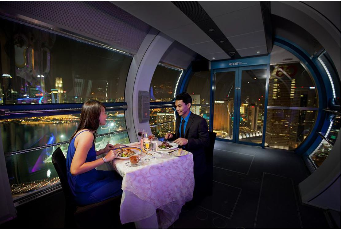 private singapore flyer sky dining capsule - 960×640