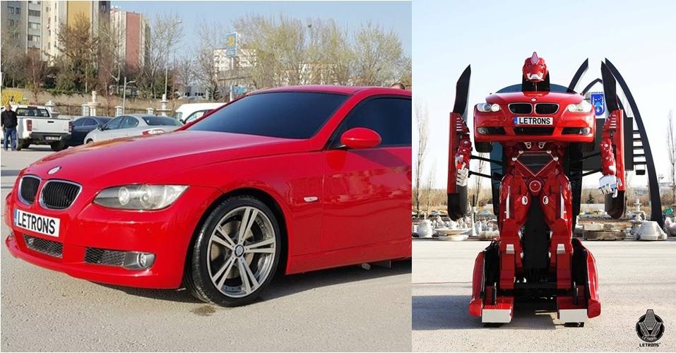 Dalam hitungan detik, mobil ini bisa berubah jadi Transformer