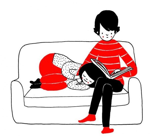 14 Ilustrasi pasangan romantis ini dijamin bikin pengen cepet nikah