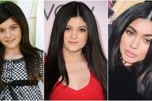 10 Transformasi Kylie Jenner, dari imut-imut sampai 'hot' banget
