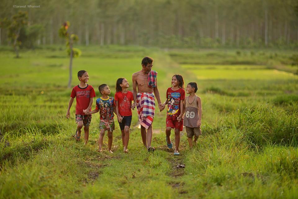 23 Foto menakjubkan kehidupan di pedesaan, bayangin aja udah adem