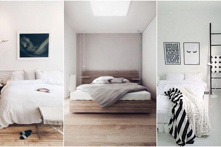 15 Inspirasi Kamar Tidur Serba Putih Yang Instagramable Banget