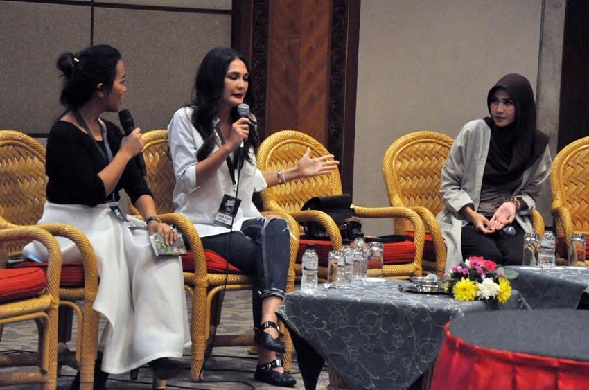 Ketika Luna Maya & Zaskia Adya Mecca 'curhat' jadi selebpreneur