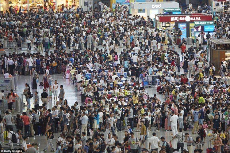 20 Gambar Kepadatan Penduduk Di China, Anda Pasti Tak Kan Menetap Di Sana