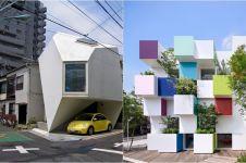 20 Arsitektur bangunan di Jepang ini antimainstream, bikin menganga