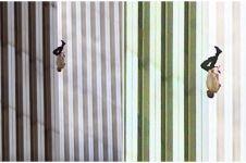 Siapa sosok orang jatuh dari gedung saat tragedi 11 September ini?