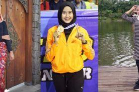 Intip gaya fashion Lia Karina Mansur, hijaber & atlet taekwondo