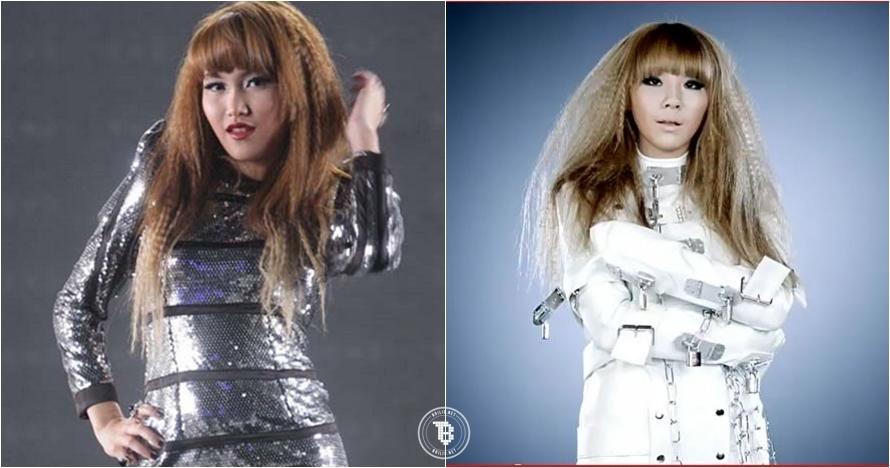 6 Foto ini dijadikan bukti kalau Ayu Ting Ting jiplak gaya seleb Korea