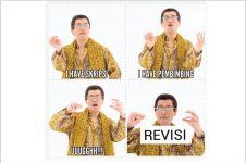 14 Meme lagu Pen Pineapple Apple Pen ini bikin cekikikan