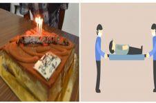 Ketika ulang tahun jadi bahan candaan lalu berujung kematian, miris