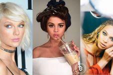 Selena Gomez miliki 100 juta followers Instagram, seleb lain lewat