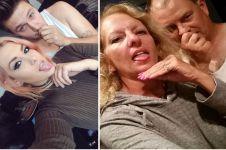 15 Orangtua ini tirukan pose selfie anak-anaknya, gokil abis