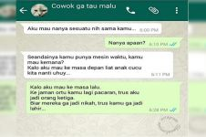15 Obrolan WhatsApp gokil ini bikin senyum-senyum sendiri