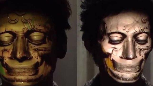 5 Video ini jadikan tubuh manusia sebagai objek permainan cahaya, jos