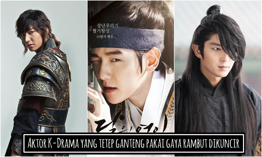 8 Aktor K-Drama tetep ini ganteng pakai rambut dikuncir, patut dicoba