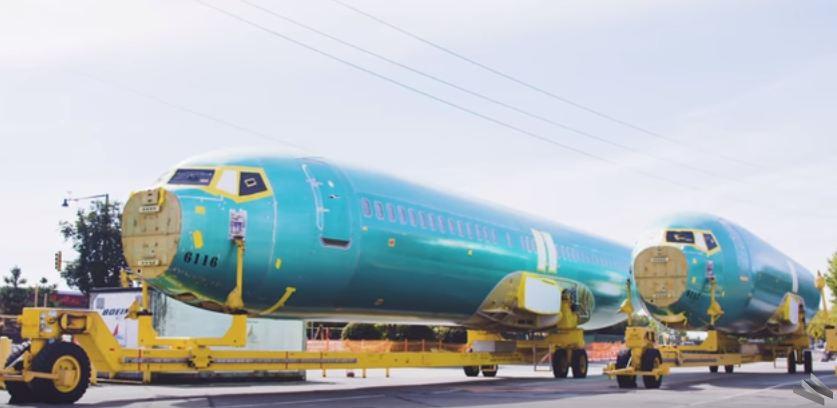 Begini cara pembuatan pesawat Boeing 737 dalam sembilan hari