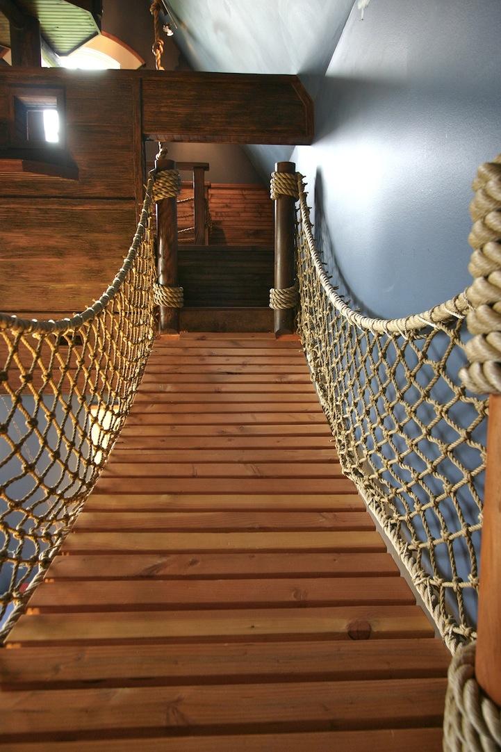 kamar bertema bajak laut ini bikin serasa di tengah samudera © 2016 architecturendesign