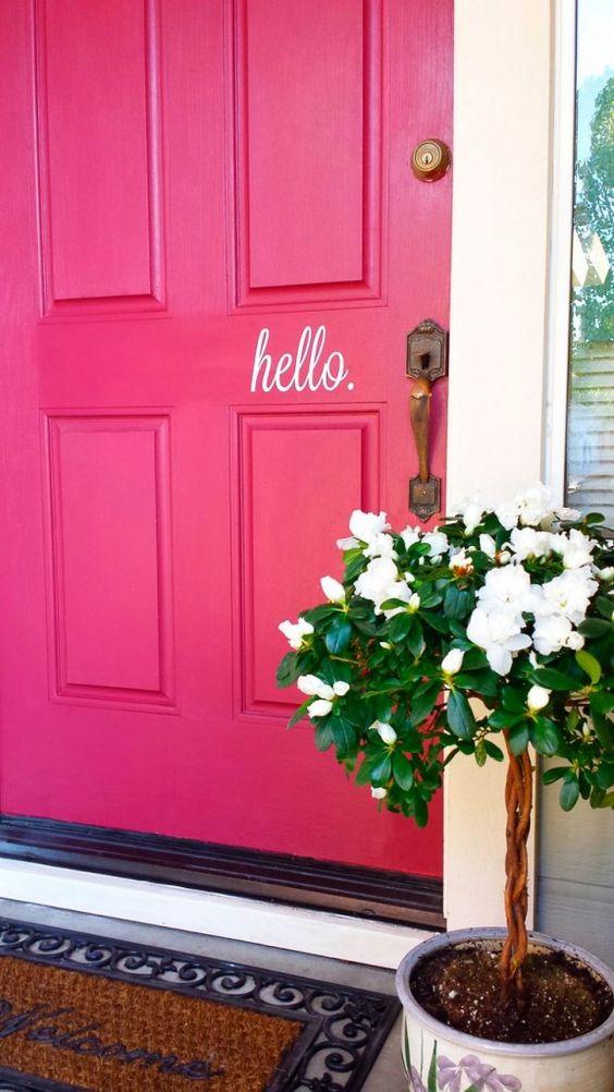 Dekorasi warna pink 1-15 © 2016 brilio.net