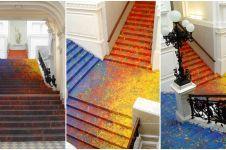 Warna anak tangga di Polandia ini keren & bikin nggak capek naik-turun