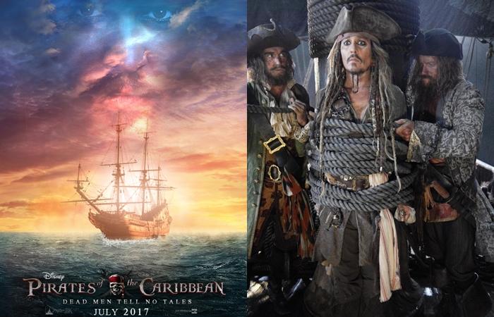 10 Foto bocoran sekuel Pirates Of The Caribbean, makin penasaran deh