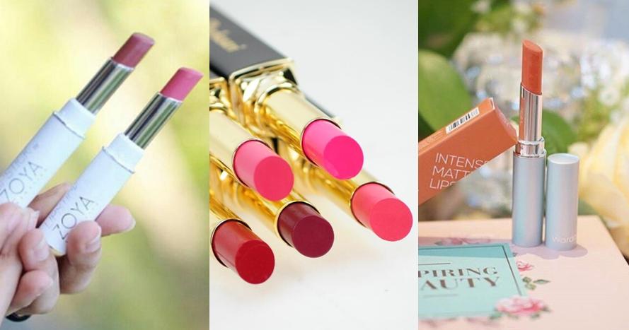 7 Lipstik lokal ini harganya di bawah Rp 50 ribu, murah meriah banget