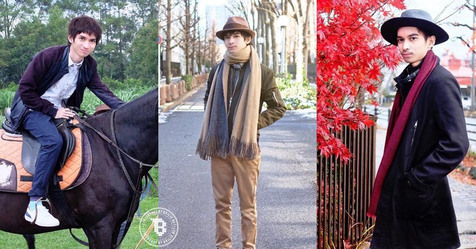 14 Foto traveler ganteng Andy Baramuli, bikin pengen ikut jalan-jalan