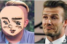 Pemuda ini habis Rp 333 juta agar mirip Beckham, hasilnya malah zonk