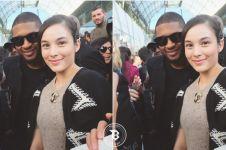 Gara-gara selfie bareng Usher, Chelsea Islan bikin netizen iri