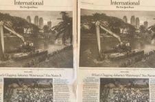 Media asing soroti sungai-sungai di Jakarta, ada apa ya?