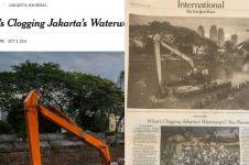 Jenis sampah di sungai Jakarta hebohkan media asing, apa saja ya?
