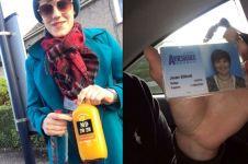 Remaja ini berdandan mirip ibunya agar bisa beli minuman beralkohol