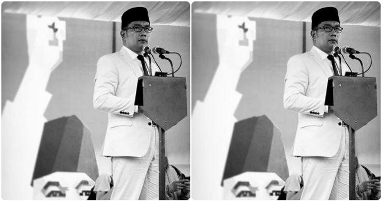 Gara-gara foto ini Ridwan Kamil disebut mirip Bung Karno, kamu setuju?