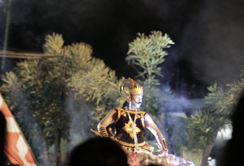 Gatotkaca dan Anoman raksasa pukau pengunjung Pawai Budaya Jogja
