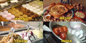 Ini dessert terbaik dari 20 negara di dunia, Indonesia apa ya?