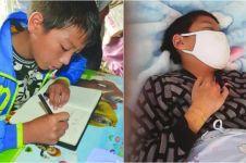 Bocah penderita kanker ini tempuh jarak 400 km untuk berobat sendiri