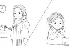 13 Ilustrasi kasih sayang ibu ke anak ini bikin kamu pengen peluk mama