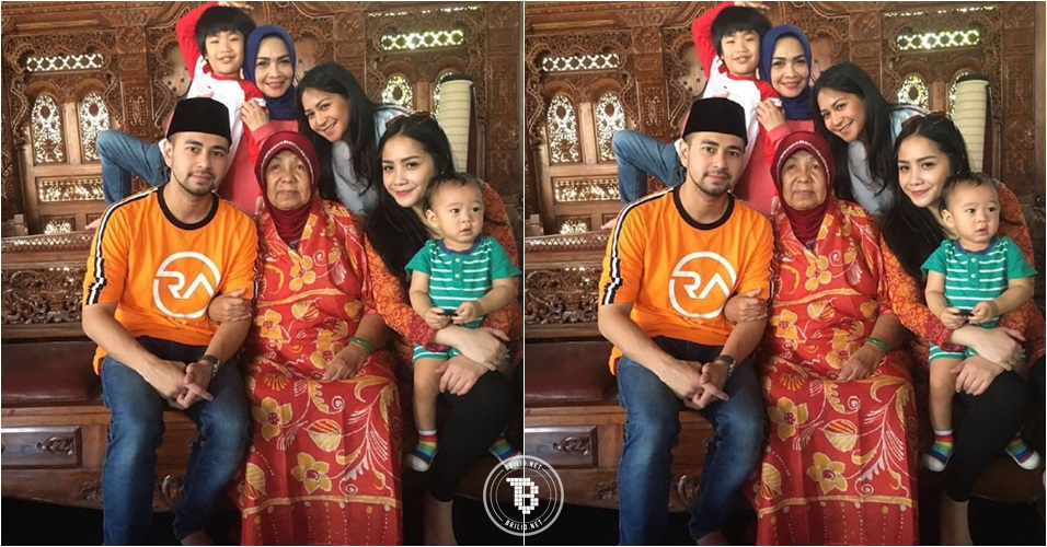 Keluarga Raffi dan Gigi berduka, nenek Gigi tutup usia