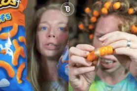 Cewek ini mengeriting rambutnya dengan Cheetos, hasilnya bikin kaget