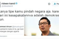 Diminta tolak demokrasi, jawaban Ridwan Kamil ini nampol abis