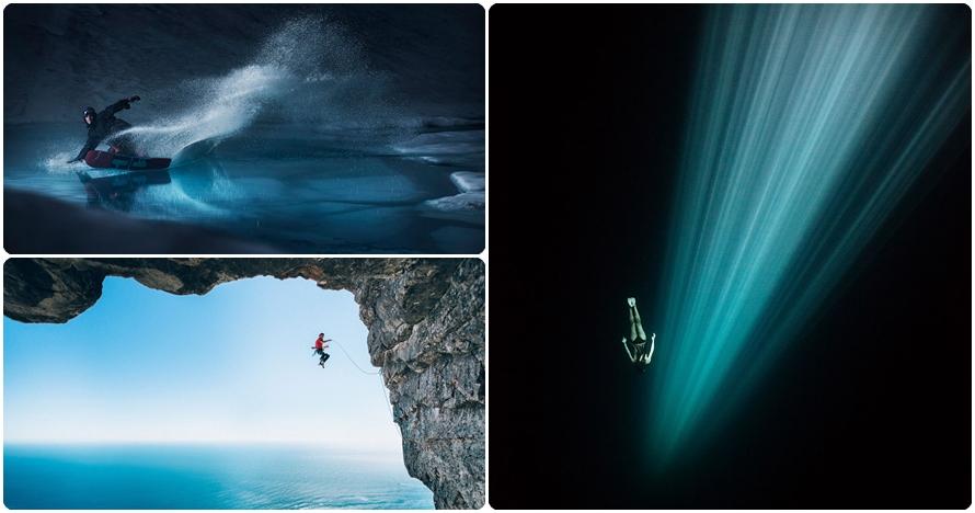 20 Foto olahraga ekstrem ini bikin takjub sekaligus merinding